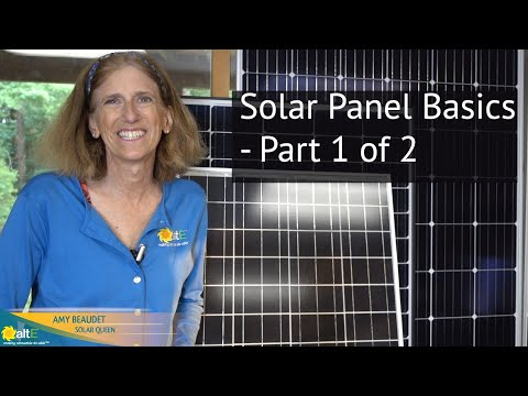 Continuing with our Solar Power for DIY series, we review the basics of solar panels. We discuss the different voltages, amps, and watts of the panels, and how to make them work to charge your battery bank.