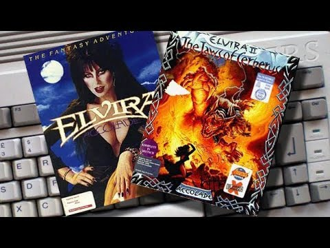 Amigamers Review #14 Elvira Mistress of the Dark & Jaws of Cerberus #Amigamers T.V.