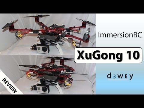 ImmersionRC XuGong Review (10 Inch Foldable Quadcopter) - UC-Kz5oYmDkfrpYtyCfNo5uw