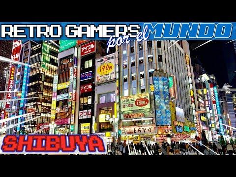Tokyo #03 - Shibuya [Retro Gamers por el Mundo] [4K]