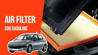 Smontaggio filtro aria PEUGEOT 206 1.4