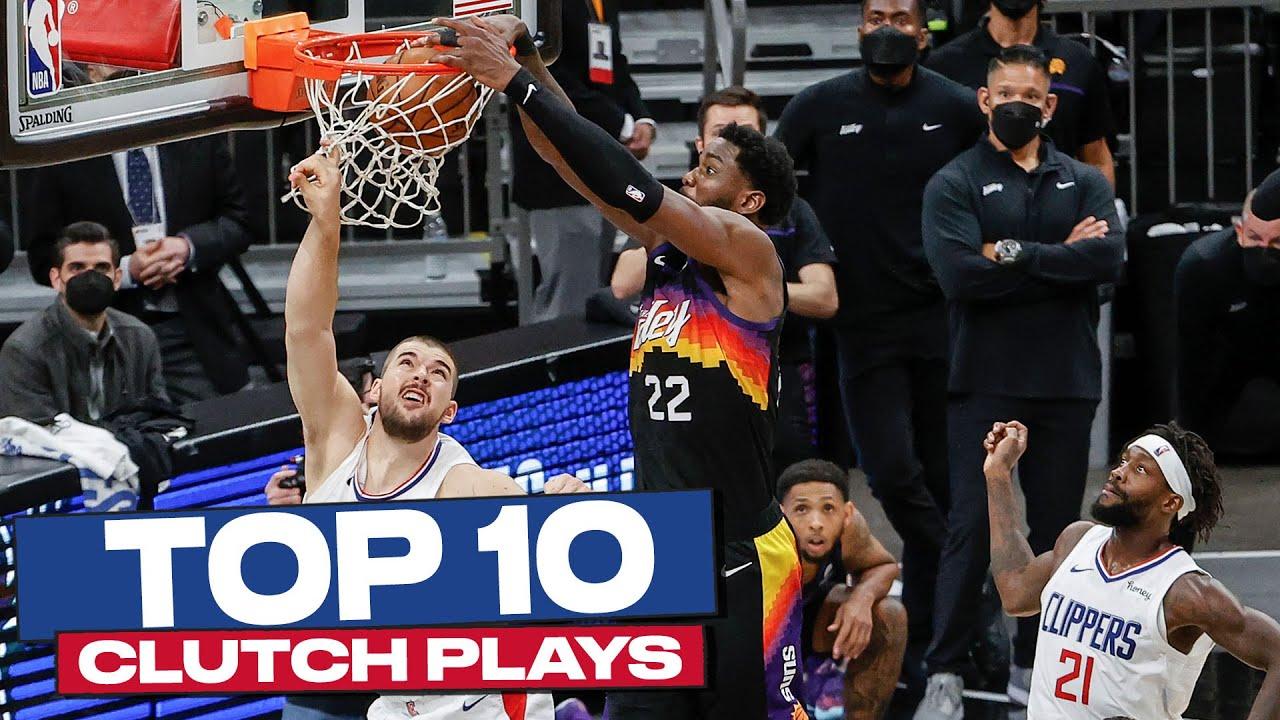 Top 10 CLUTCH Plays of 2020-21 NBA PLAYOFFS 🙌