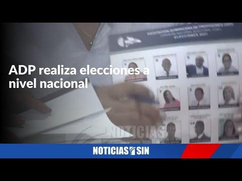 ADP realiza elecciones a nivel nacional