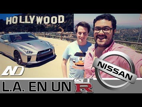 Nissan nos mandó a Los Angeles, nos prestó un GT-R y así nos fue- Vlog