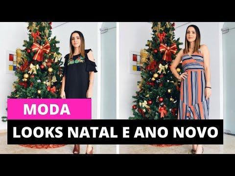 Looks para o Natal e o Ano Novo | Looks da Fê