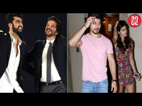 Arjun Kapoor Asks Anil His Favorite Child | Disha Attends 'Munna Michael' Screening With Team