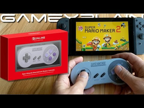SNES Switch Controller UNBOXING + Testing With Super Mario Maker 2, Smash Ultimate, & More! - UCfAPTv1LgeEWevG8X_6PUOQ