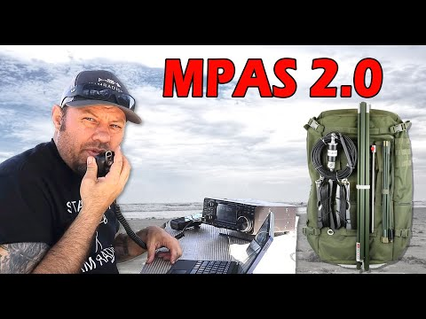 Chameleon CHA-MPAS 2.0 Portable Ham Radio Antenna System | Best Portable Ham Radio Antenna?