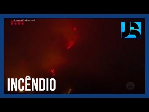 350 pessoas são obrigadas a deixarem suas casas na Espanha devido a incêndios florestais