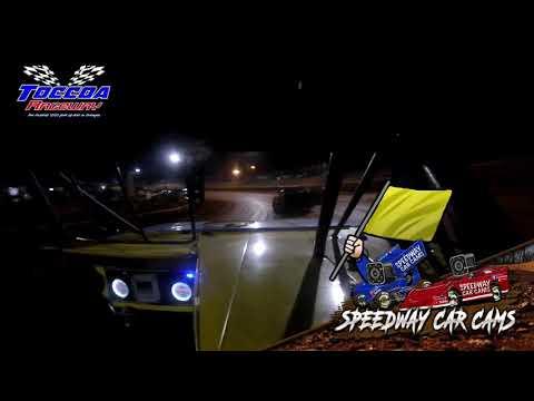 #16 David Ross - Stock 4 - 10-23-21 Toccoa Raceway - In-Car Camera - dirt track racing video image