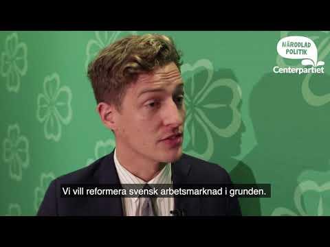 """Emil Källström presenterade Stämmoprogrammet """"Låt inte Sverige Klyvas"""""""