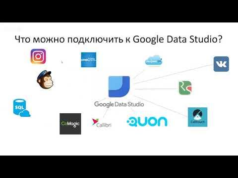 Что можно подключить к Google Data Studio (бесплатной системе сквозной аналитики)