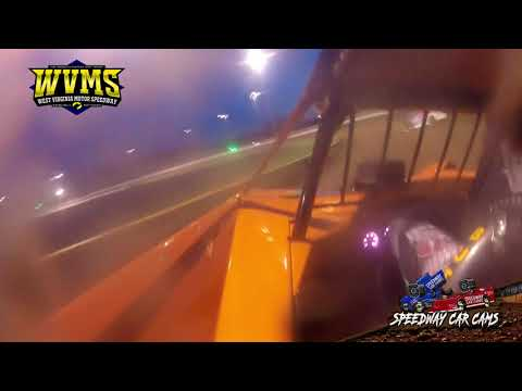 #48 Colton Flinner - West Virginia Motor Speedway 4-24-21 - Super Late Model - dirt track racing video image