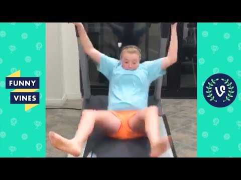 TRY NOT TO LAUGH - TREADMILL FAILS | Funny Videos February 2019