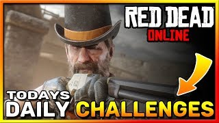 Red Dead Online Daily Challenges - RDR2 Daily Challenge List - August 17 Daily Challenges RDO!
