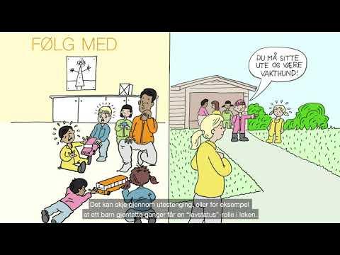 Psykososialt barnehagemiljø i Kanvas