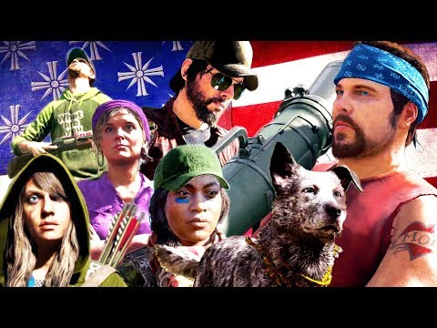 FAR CRY 5: All Characters Spotlight Trailer (2018) PS4 / Xbox One / PC