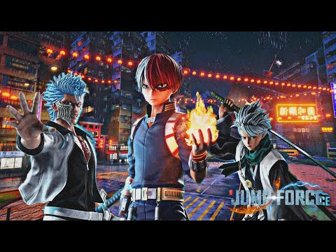 Jump Force   DLC Characters Pack (Grimm Jaw,  Law, Todoroki,.....)