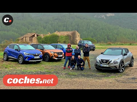Juke, Captur, 2008, Kamiq, Renegade 2020 | Comparativa SUV B / Test / Review en español | coches.net