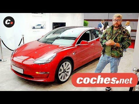 Tesla Model 3 | Salón de París 2018 | Mondial de l'Auto | coches.net