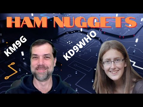 Ham Nuggets Live!  Kaitlin Dickey, KD9WHO