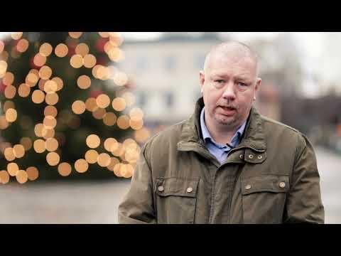 Ronneby - Kommunalråd Roger Fredrikssons julhälsning 2020