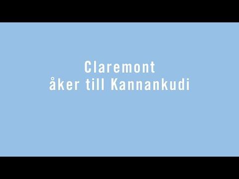Claremont åker till Indien!