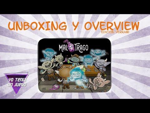 Mal trago - Unboxing y overview - Yo Tenía Un Juego De Mesa #65
