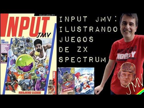 INPUT JMV: ilustrando juegos de ZX Spectrum