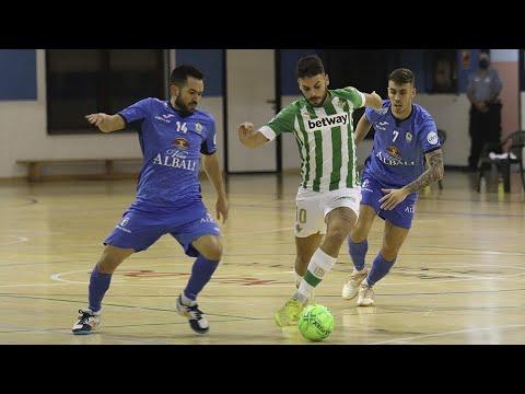 Real Betis Futsal - Viña Albali Valdepeñas Jornada 3 Temp 20-21