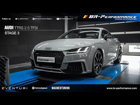 Audi TTRS 2.5 TFSI / Stage 3+ By BR-Performance / TTE700 TURBO
