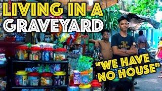 FILIPINO COMMUNITY LIVING IN A GRAVEYARD: INSIDE MANILA NORTH CEMETERY