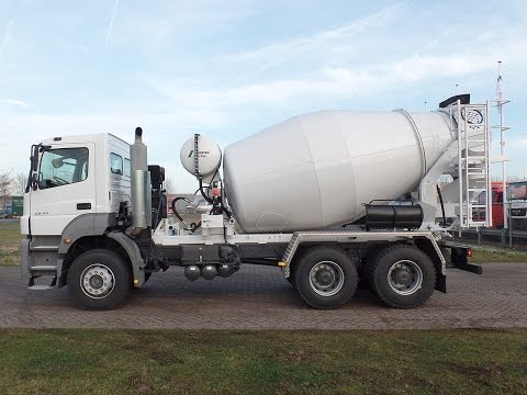 me3851- Mercedes 2635-B 6x4 with Stetter mixer - NEW