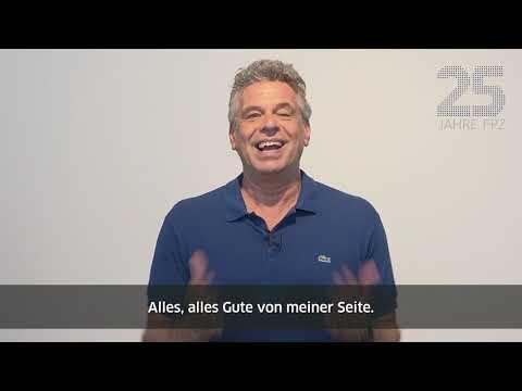 Glückwünsche von Jürgen Hingsen zu 25 Jahren FPZ