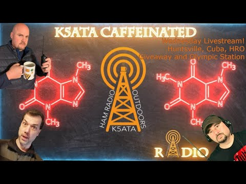 Caffeinated Radio Livestream: Huntsville, Cuban Jamming, HRO Giveaway Olympic Station