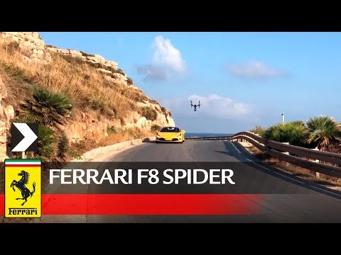 Ferrari F8 Spider Official Behind the Scenes
