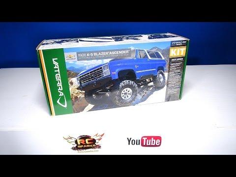 RC ADVENTURES - Unboxing the Vaterra 1/10 1986 Chevrolet K-5 Blazer Ascender 4WD Kit - Build Video 1 - UCxcjVHL-2o3D6Q9esu05a1Q