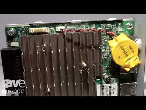 DSE 2017׃ Sharp Explains PN-R Series Wire Suspension Mini OPS