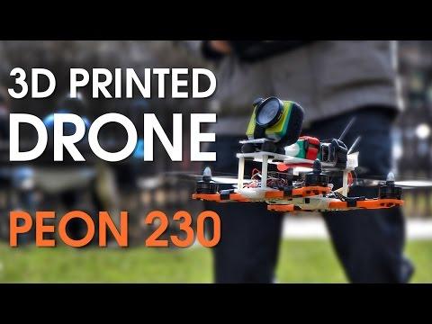 3D Printed Racing Drone - PEON 230 (under $150) - UCp8uRbEnn5Edv0uL-xh-pcQ