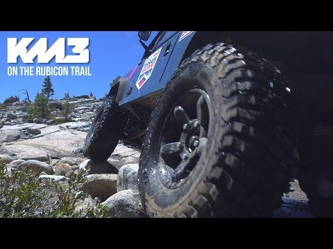 I Took the KM3 Tires on the Rubicon Trail - Complete Story and Review