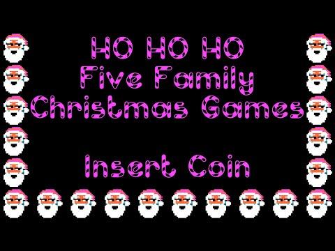Ho! Ho! Ho! Five Family Christmas Games (1985) - Apple II - Partida Completa