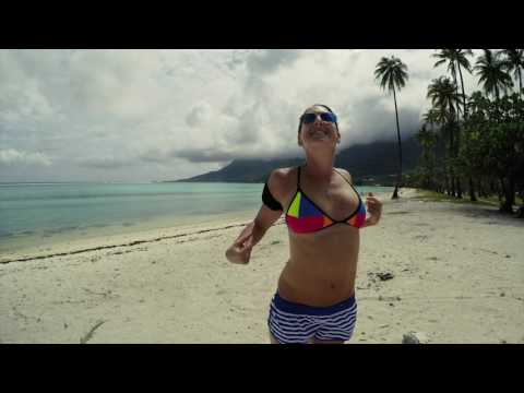 Beautiful Moorea island in 4k with Gopro 4 & Phantom 3pro