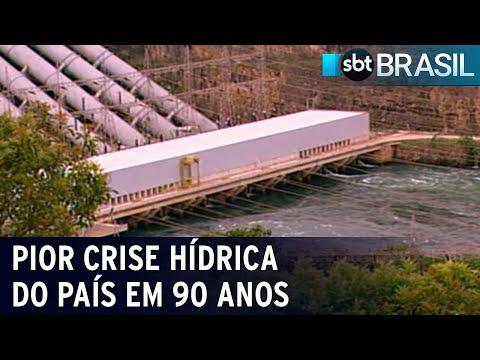 Brasil tem pior crise hídrica em 90 anos | SBT Brasil (17/07/21)