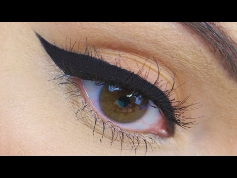 HOW TO: Perfect Winged Eyeliner Tutorial (New 'STROKES' Technique!)