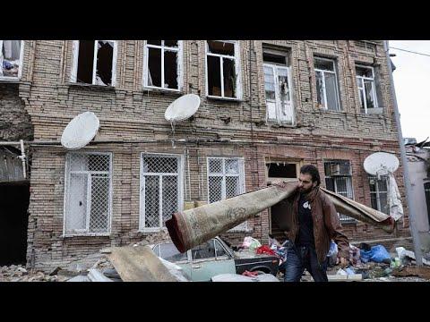 """Francia, Estados Unidos y Rusia piden un alto el fuego """"inmediato"""" en Nagorno Karabaj"""