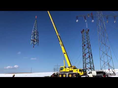 Stärkere Maste für eine sichere Stromversorgung