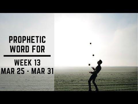 Daily Prophetic week 13