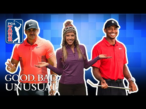 Koepka?s epic mic drop, Tiger?s special delivery & Piercy?s lucky hat