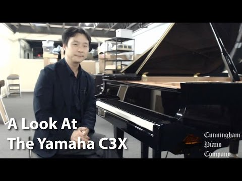 A Look at the Yamaha C3X Grand Piano