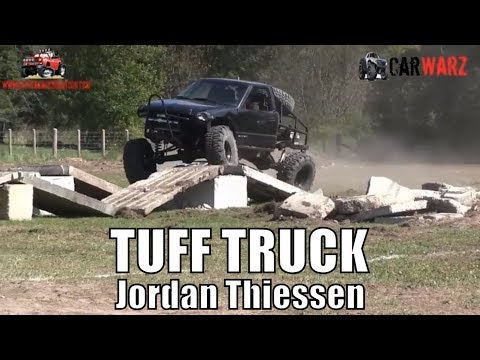 Jordan Thiessen 2000 Chevy First Round Modified Class Minto Tuff Truck Challenge 2018